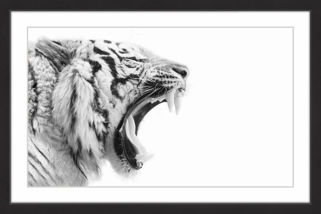 """""""king&x27;s Fangs"""" Framed Painting Print, 60x40."""