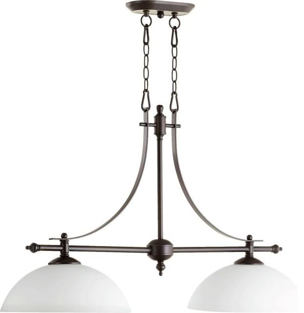 Quorum International 6577-2 Aspen 2-Light Chandelier