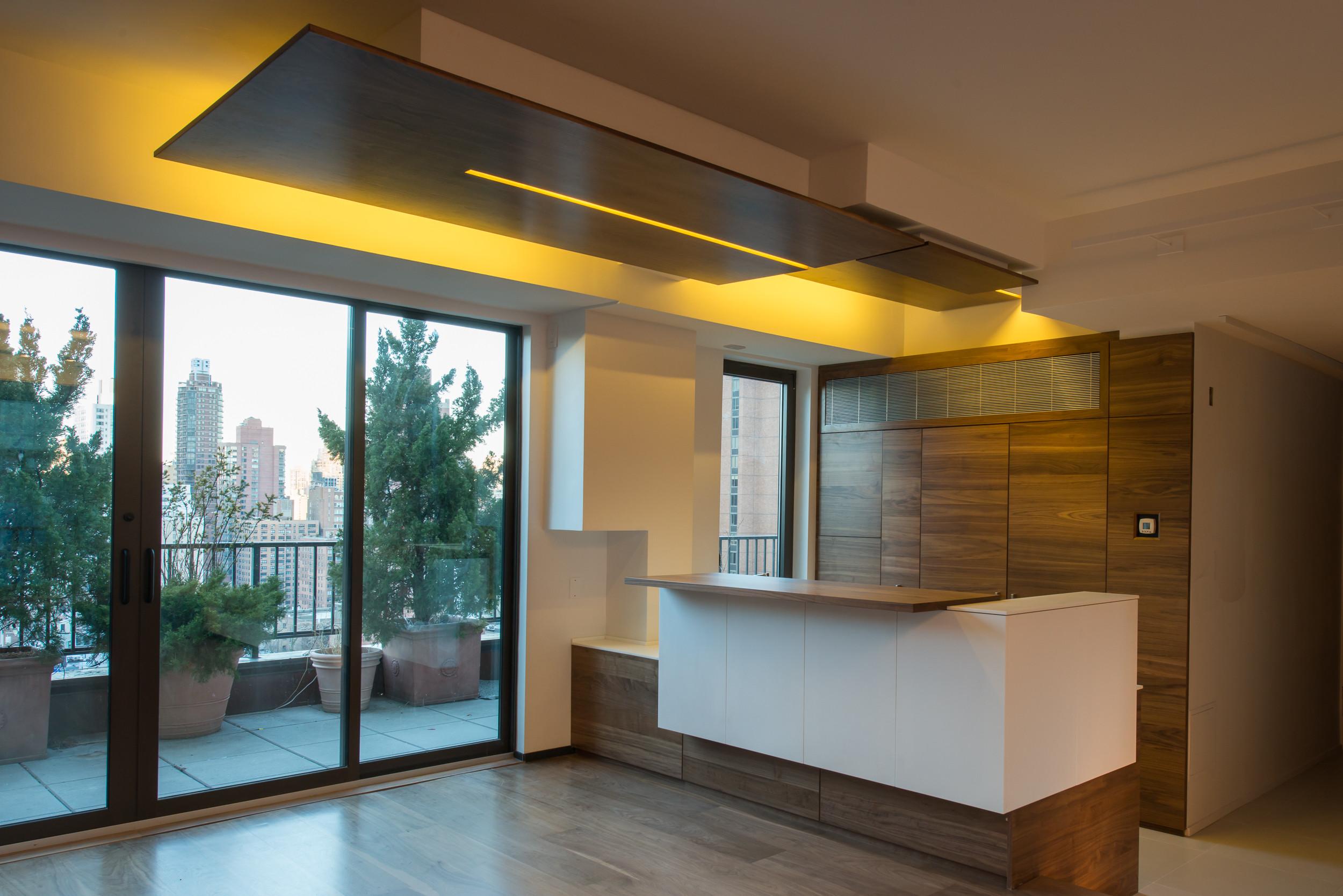 Manhattan contemporary kitchen