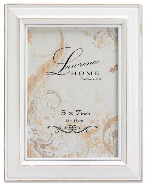 Weathered White Wood 4x6 - Farmhouse - Picture Frames - by Lawrence ...