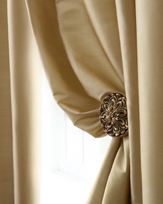 Amity Home Radiance Silk Curtain traditional curtains
