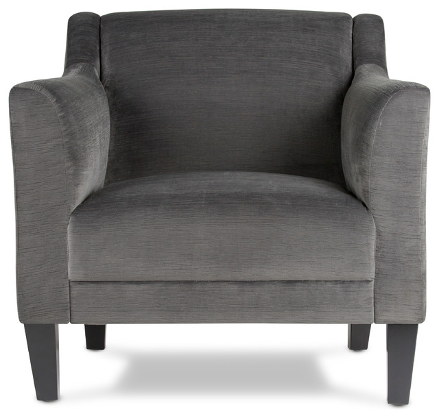 Harper Arm Chair, Charcoal