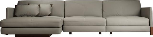 Lafayette Sectional Sofa Left Opala Leather.