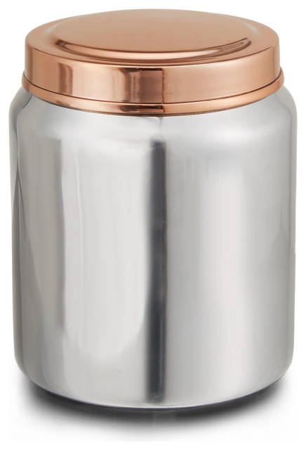 empire jar transitional kitchen canisters and jars
