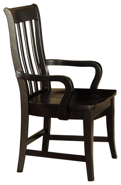 Steve Silver Company Bella Arm Chair in Multi Step Black  : transitional armchairs and accent chairs from www.houzz.com size 418 x 640 jpeg 45kB