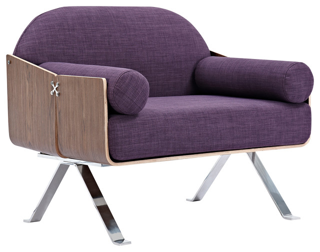 Plum Purple Jorn Chair Armchairs And Accent Chairs By