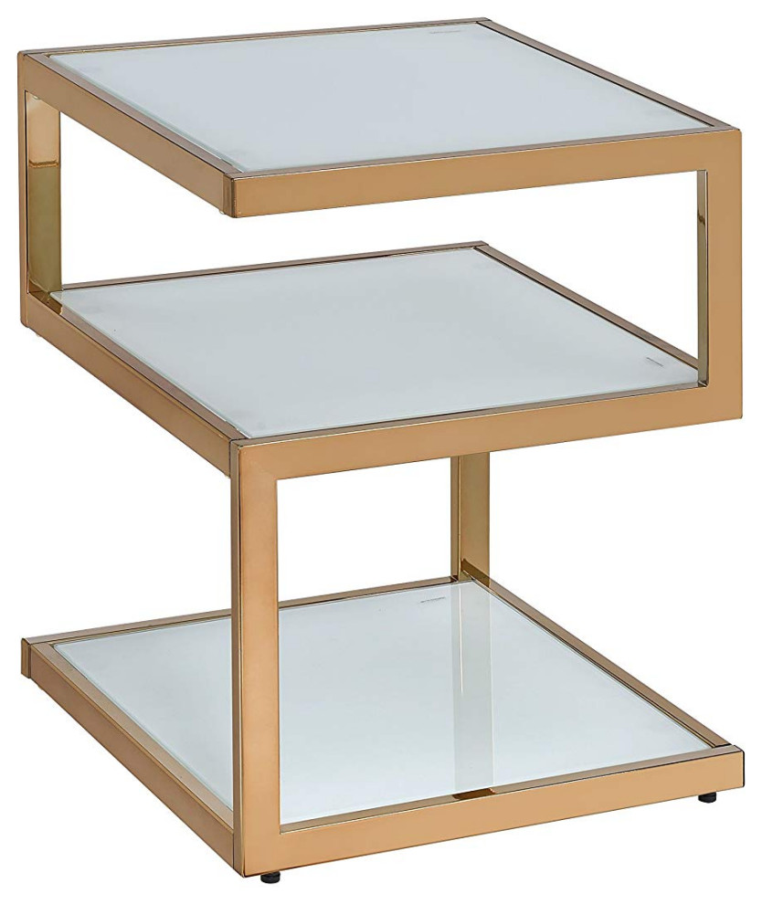 ACME Furniture 82828 Becci End Table White One Size