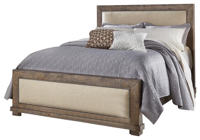 Jackson Hole Upholstered Bed, King.