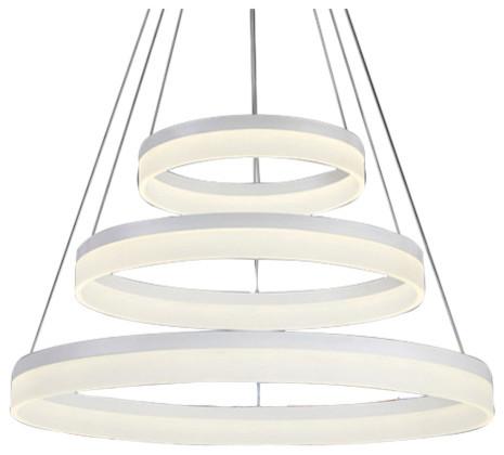 Circulo 3-LED Pendant Light