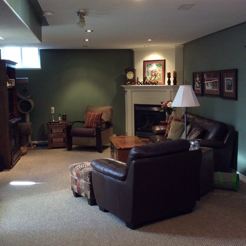 painting basement bulkheads wall or ceiling colour