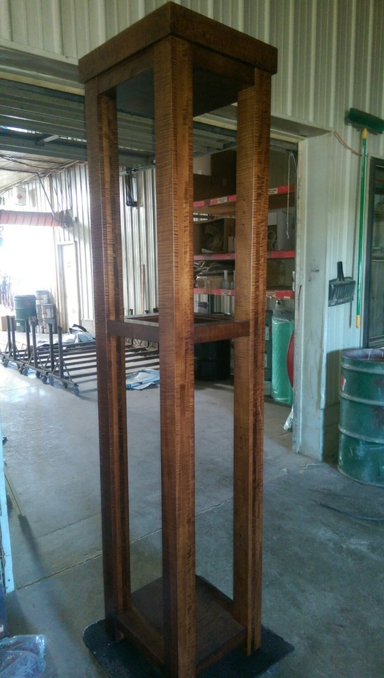 Bar cabinet in building process