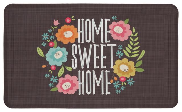 "Mohawk Home Dri- Pro Comfort Mat Home Sweet Home, 1&x27; 6""x2&x27; 6""."