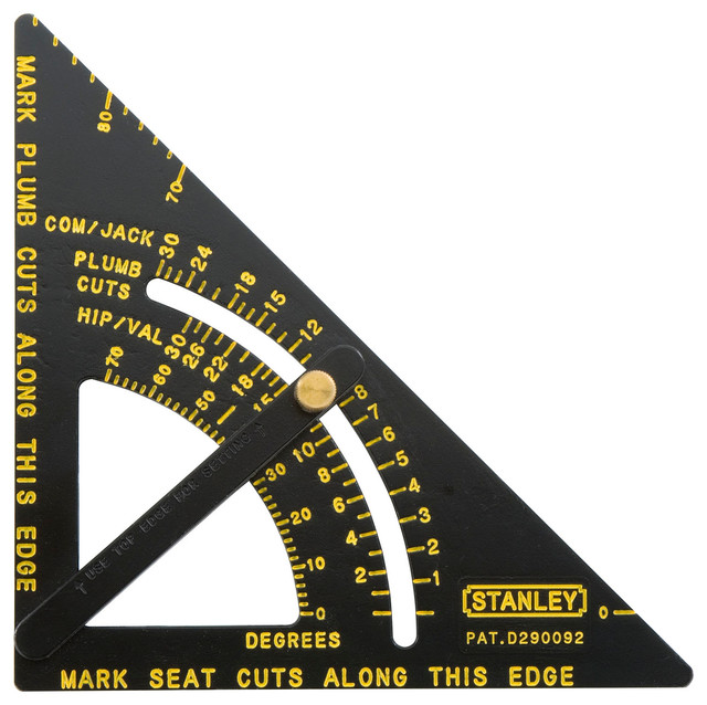 Stanley Hand Tools Contractor Grade Quick Square.