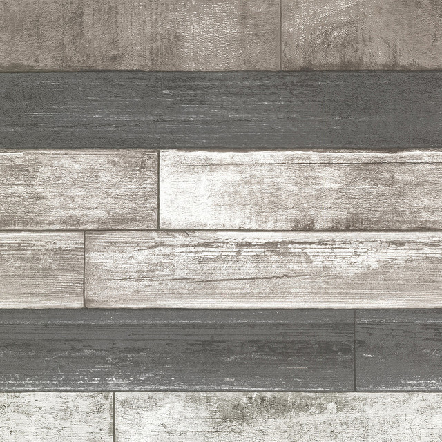Dustin Gray Wood Wallpaper Southwestern Wallpaper By Brewster