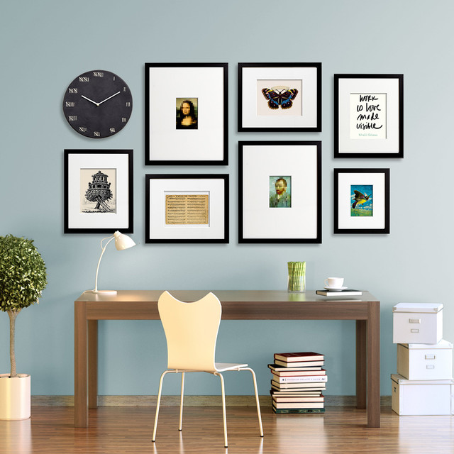 Gallery wall layouts – using EasyGallery® frames - Modern - Chicago ...