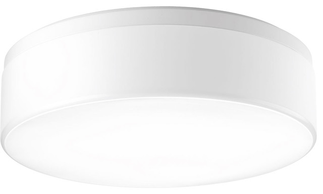 Maier 3-Light Flush Mounts, White.