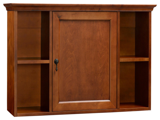 Ronbow Traditional Bathroom Wall Cabinet Colonial Cherry Traditional Medicine Cabinets By