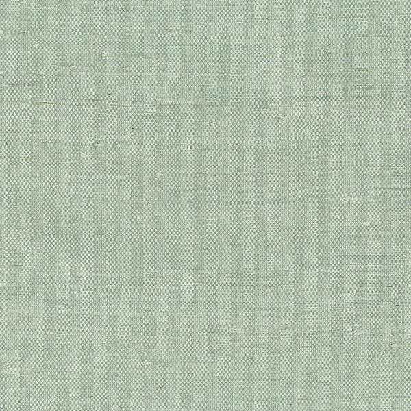 Kimi Light Green Grasscloth Wallpaper Bolt