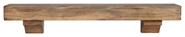"Chesapeake Mantel Shelf, Sand, 60""."
