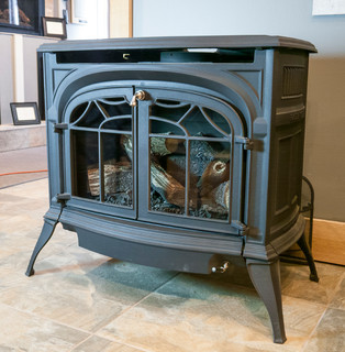 Gas Stoves to heat your home. Visit our Evergreen showroom