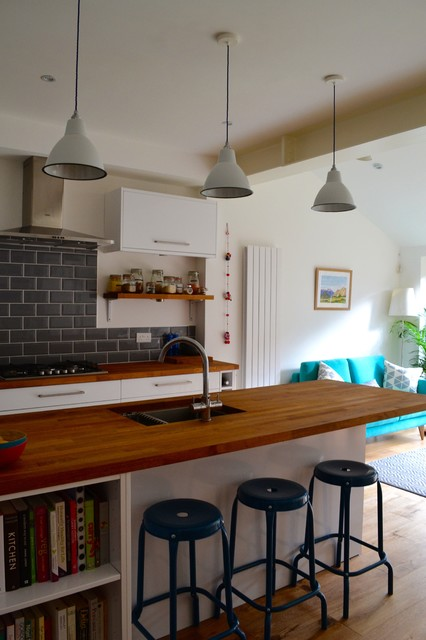 South London 1930s Terraced House Kitchen Diner Extension