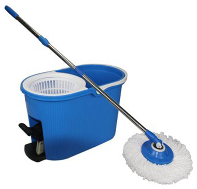 Rotating Magic Mop And Bucket Contemporary Mops Brooms