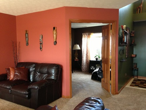 To change my living room color or not?