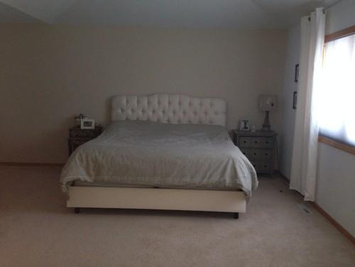 My Huge Master Bedroom Looks Bare! Need Design Ideas!