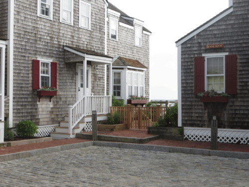 Timberlane Shutters Are Used On Condominiums In Nantucket, MA. The Owners  LOVE The Shutters Now That They Are Installed. The Scallop Tie Backs Are  Per.