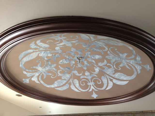 Ceiling Dome Decorative Painting Traditional