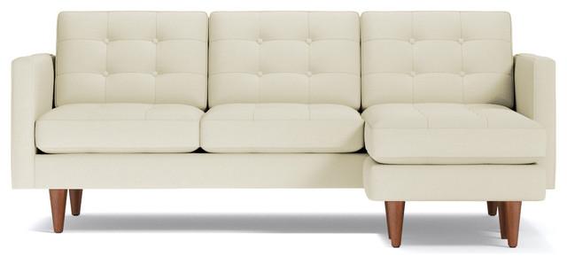 Lexington Reversible Chaise Sofa Buckwheat midcentury-sectional-sofas  sc 1 st  Houzz : lexington sectional sofa - Sectionals, Sofas & Couches