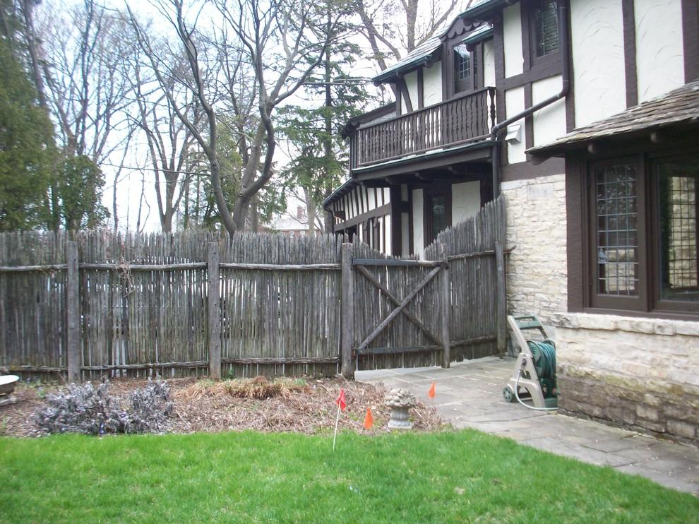 Traditional Backyard Landscape Renovation - Fox Point