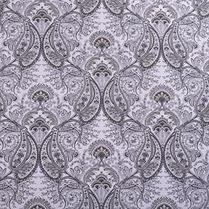 Designer Roman Shades Plain Fold, 42wx36h, Platinum Grey.
