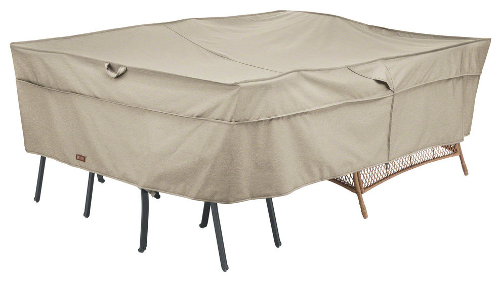 Conversation Set Furniture Group Cover Heavy Duty Outdoor Furniture Cover Large Contemporary Outdoor Furniture Covers By Classic Accessories