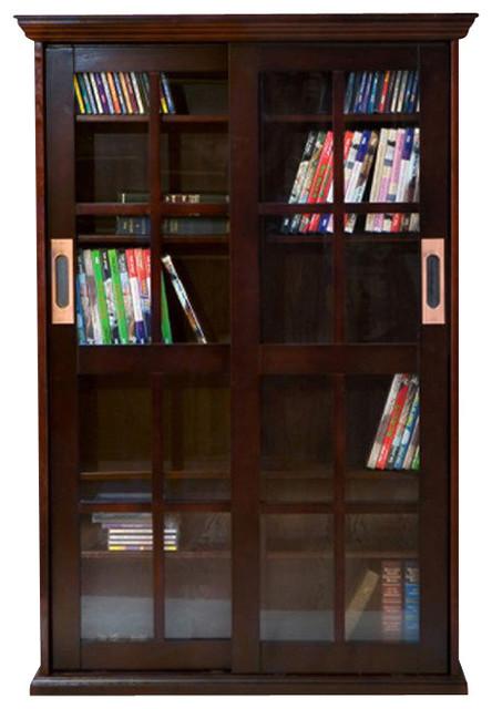 Shop Houzz | Southern Enterprises SEI Sliding Door Media Cabinet ...