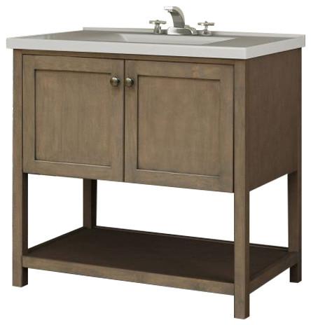 "Miseno Mvan30com 30"" Bathroom Vanity Set."