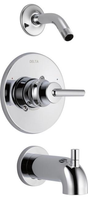 Delta Trinsic Monitor 14 Series Tub & Shower Trim, Less Head