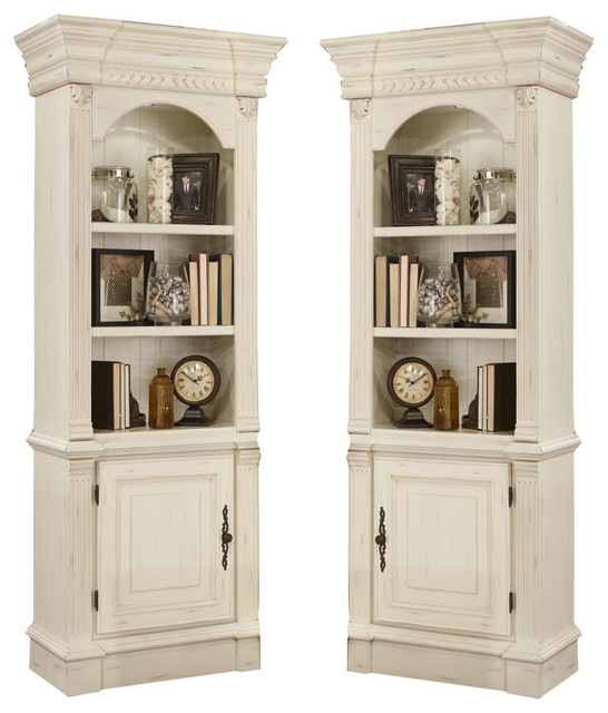 Parker House Fremont Pier Cabinets (Pair) in White