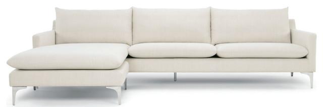 Pleasing Anders Sectional Sofa Sand Silver Spiritservingveterans Wood Chair Design Ideas Spiritservingveteransorg