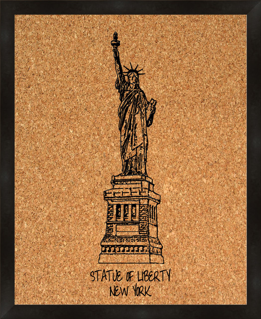 Ptm Images Statue Of Liberty Cork Board View In Your