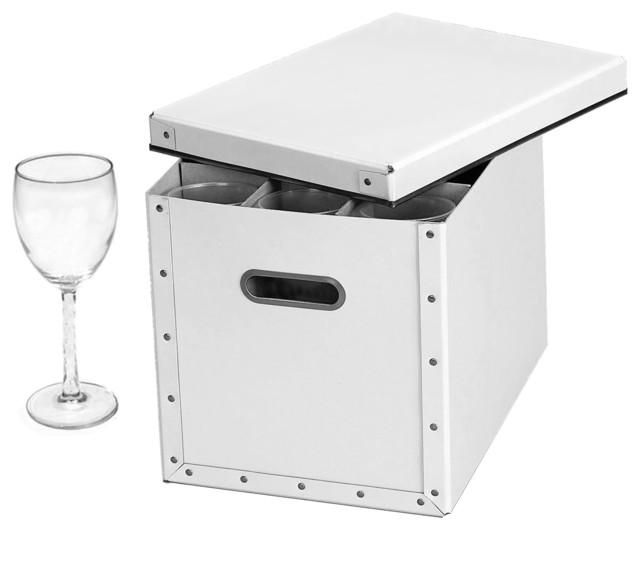 Cargo Moderne Stemware Storage Box.