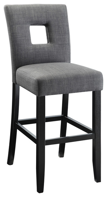 Coaster Andenne Counter Height Chair With Square Cutout In Seat Back Set Of 2