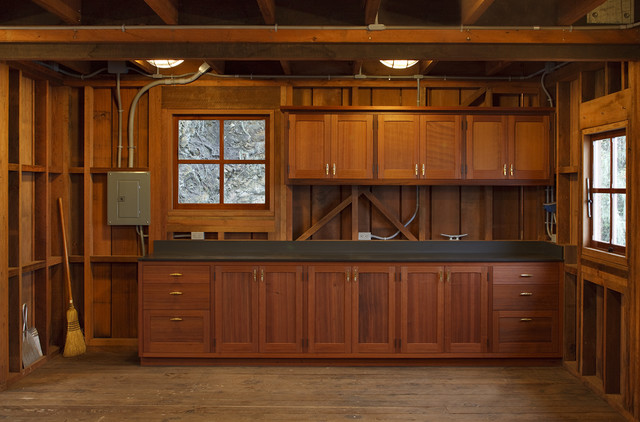 Boat House Interior Cabinets Traditional San Francisco