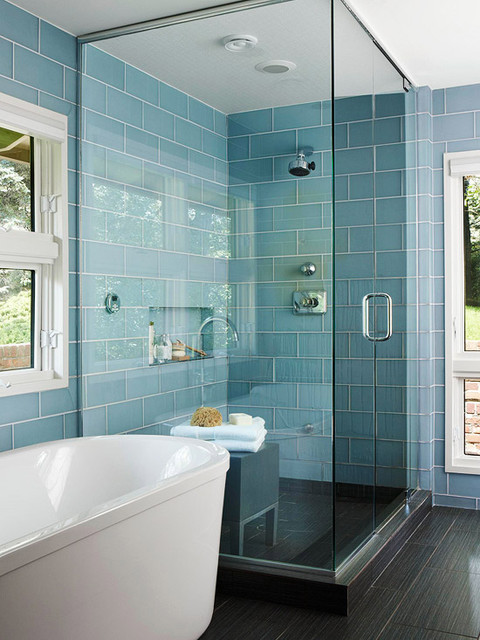 Tiled Bathrooms - Better Homes and Gardens - BHG.com