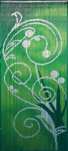 Green Dreams Bamboo Curtain.