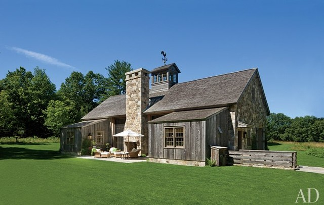American-Rustic - Farmhouse - Exterior - Bridgeport - by ...