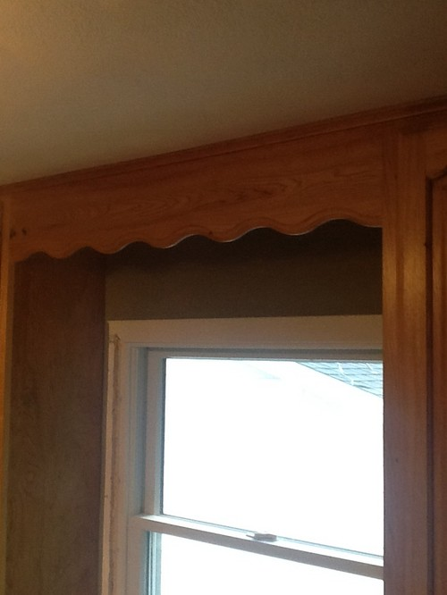 Valance Over Kitchen Sink