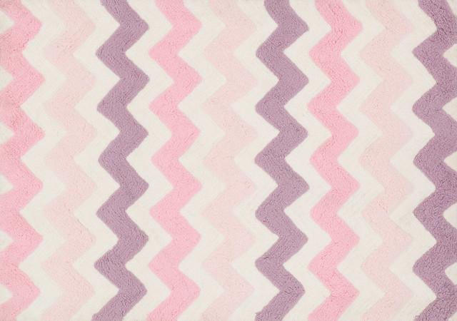 Loloi Rugs, Lola Shag, Pink And Purple, 3u0027x3u0027 Round Contemporary