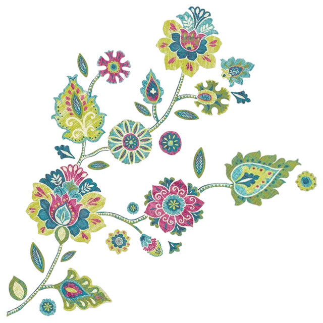 Boho Flower Giant Wall Decals.