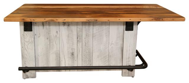 Rustic Reclaimed Wood Kitchen Island Farmhouse Kitchen Islands And Kitchen Carts By Rustic Red Door Company